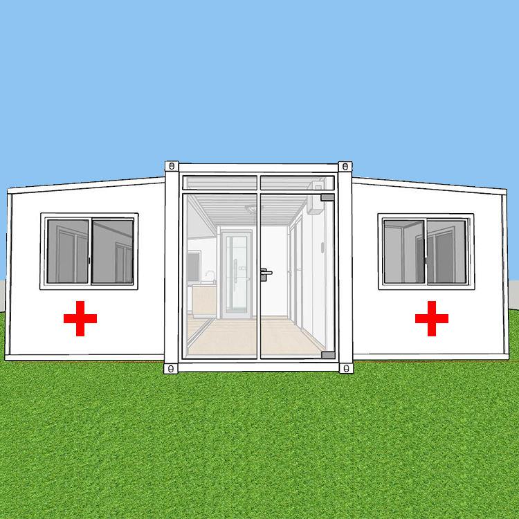 Prefabbricata mobile mediche cliniche ospedaliere casa del <span class=keywords><strong>contenitore</strong></span> per <span class=keywords><strong>esterno</strong></span> epidemia di prevenzione