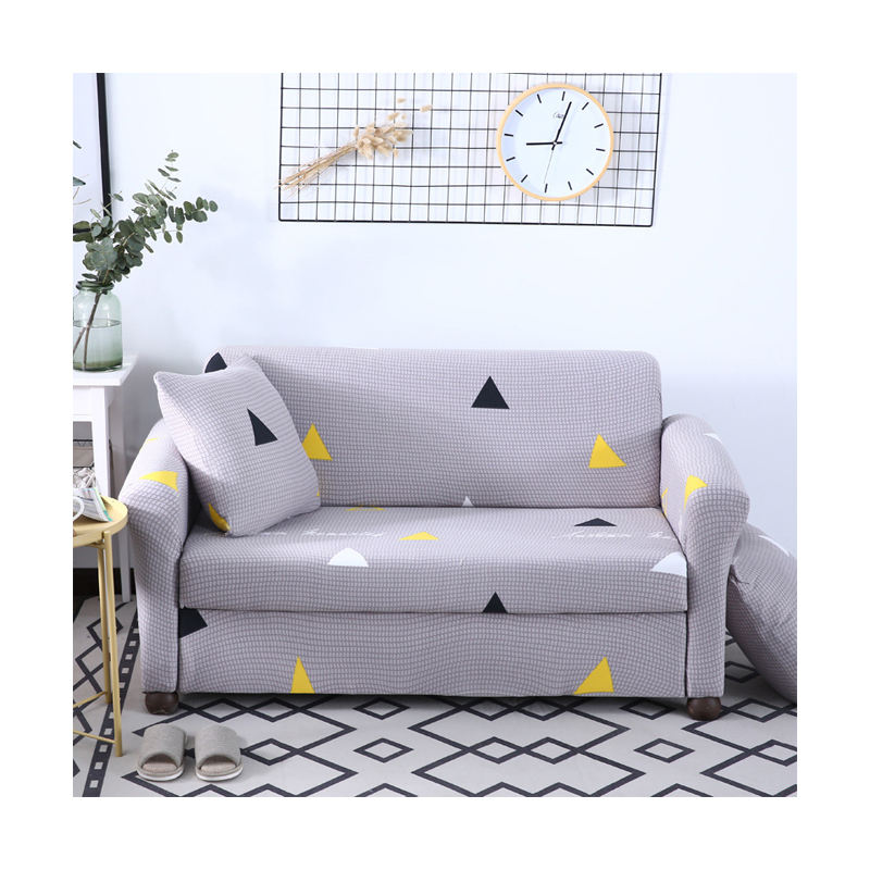 Various Geometric Patterns Designs Polyester Couch Cover Sofa, Cheap Unique Style Dustproof Living Room Sofa Cover/