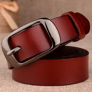 Panas Wanita Leather Belt Wanita Leather Belt Dekorasi Fashion Serbaguna Belt