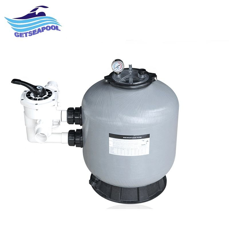 Pool activated carbon filter for swimming pool