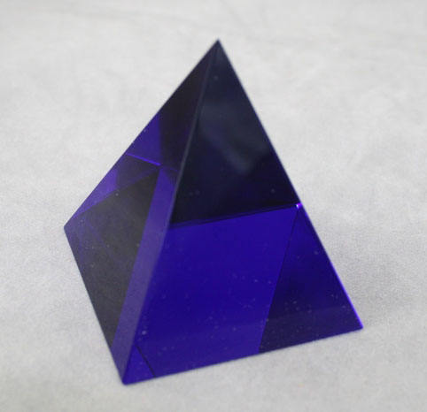 Glas Blue Crystal <span class=keywords><strong>Egypte</strong></span> Piramide MH-F0123