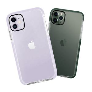 Transparent Clear Impact Phone Case for iPhone 11 Pro Max Shockproof Mobile Phone Cover for iPhone 11 Bumper Phone Case
