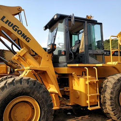 Used Well-miantained  High Quality Used front wheel loader 856L china brand
