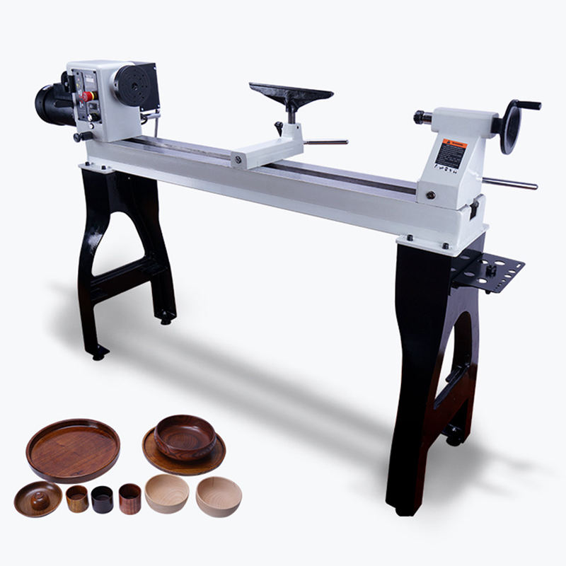 1500W Heavy Wood Lathe for Woodworking Enthusiasts