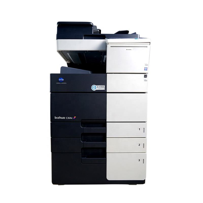 Refurbished A3 a Color Laser Printer for Office Konica Minolta Bizhub C554 C454 C654 C364 Used Copier A4