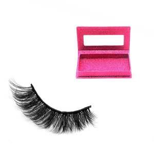 CH04 100% Handmade Real Mink Fur Lashes Vendor 4d Faux Mink False Eyelashes