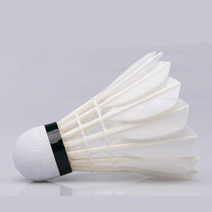 DECOQ Badminton Shuttlecocks with Nylon Feather Material and PU Cork Material,6-Pack Have Badminton Birdies with High Speed and Great Durability