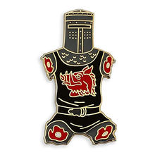 Black Knight Just A Flesh Wound Enamel Lapel Pin