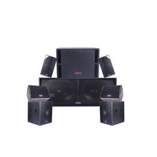 Jusbe S112 professional audio, video & lighting single 12 inch dj bass speaker home theater system for home theater