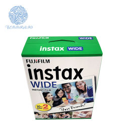 HI-SPEED ISO 800 FujiFilm Wide Film for  Instax Wide 300/ 210 / 200 vivid natural color instant film