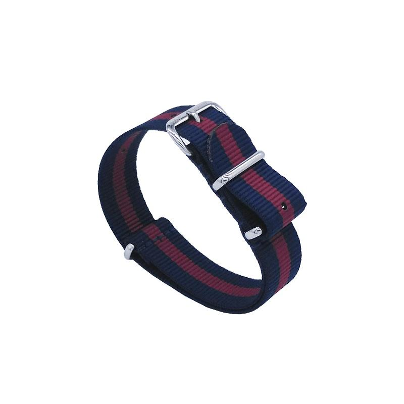 Factory direct supply wholesale watch band 14-24 mm Nylon Fabric Watch Nato Strap