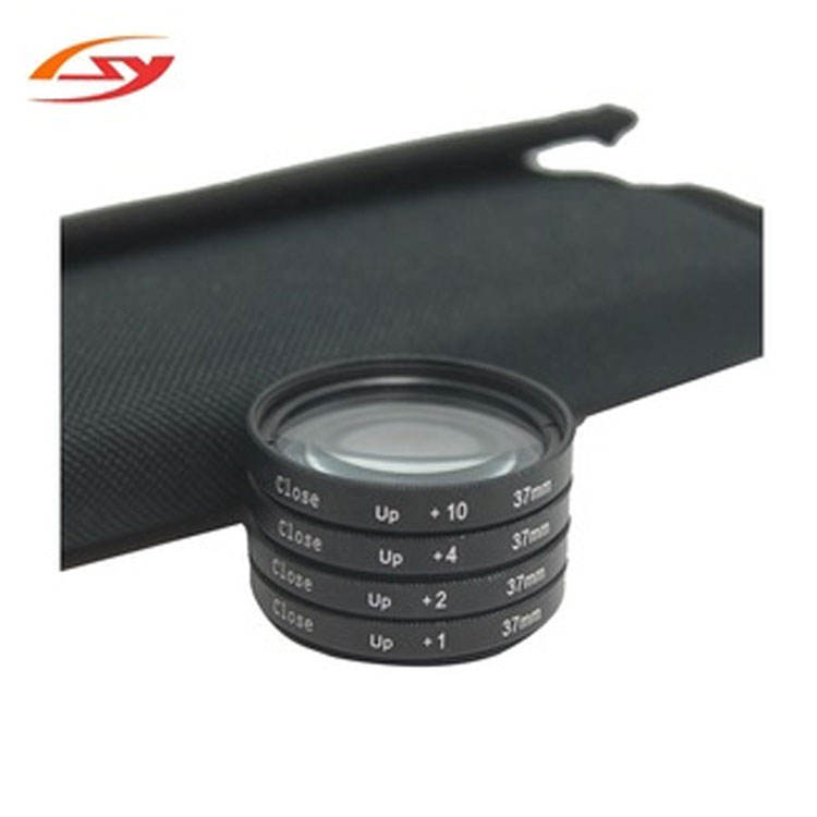 37mm 4 in 1 Camera Macro Lens Filters Kit +1+2+4+10 Close Up Glass Filter