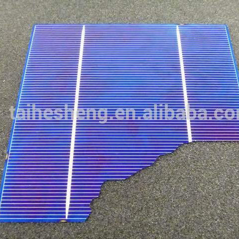 "117x156 6"" Poly Mono Crystalline Solar Cell With Broken Solar Cells"