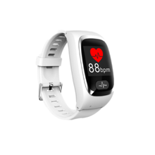 GPS Phone Waterproof Dementia Elderly Anti-lost Device Remote Monitor Atrial Fibrillation Blood Oxygen Pressure SOS Smart Watch