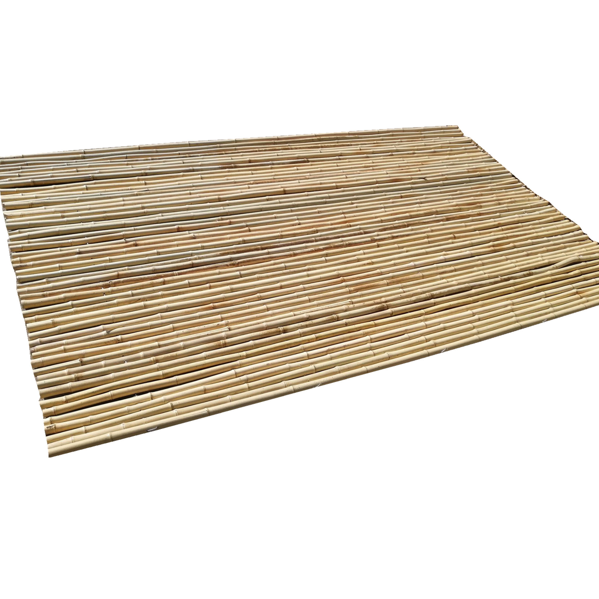 bamboo fence garden fencing panel with natural bamboo