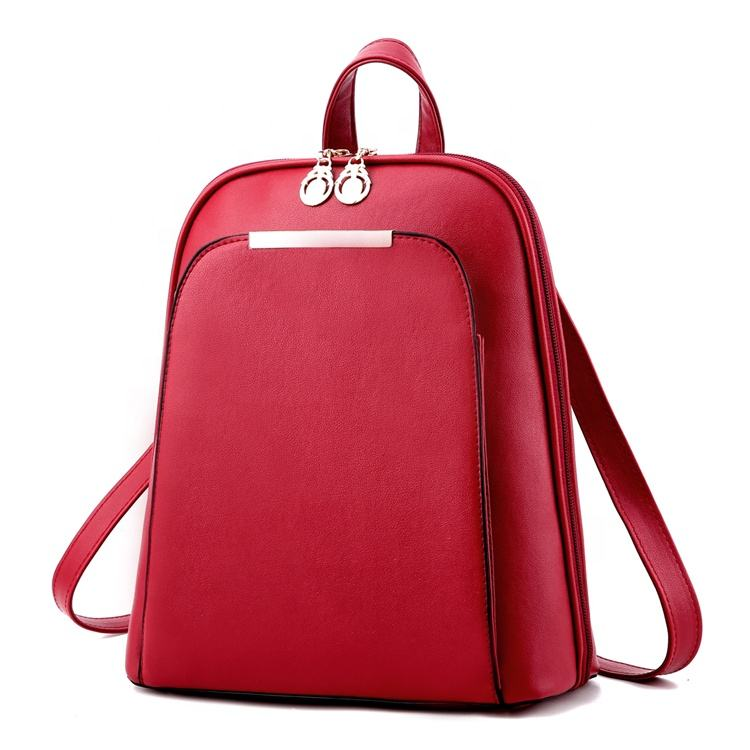 wholesale hot selling name brand korean fashion backpack