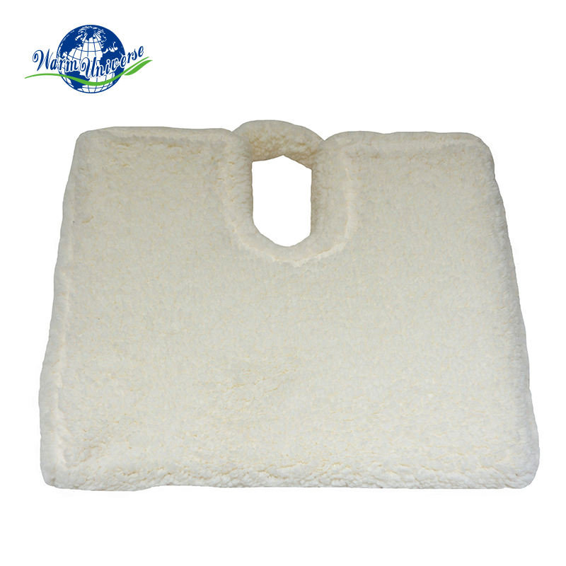 Factory Wholesale Comfort Soft Sherpa Coccyx Orthopedic Wedge Car Seat Cushion