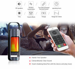 Portable Stereo TWS Bluetooth Clear Sound Speaker Outdoor Sport Alpha Flame Light mobile charger 10Y Alpha