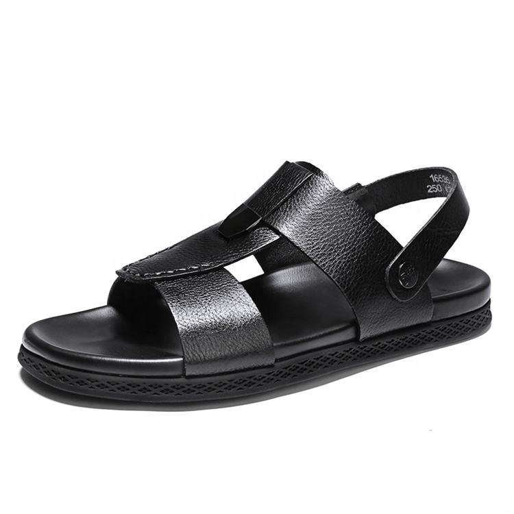 dual-use cool slippers non-slip wear slippers MOM Summer mens sandals casual beach shoes