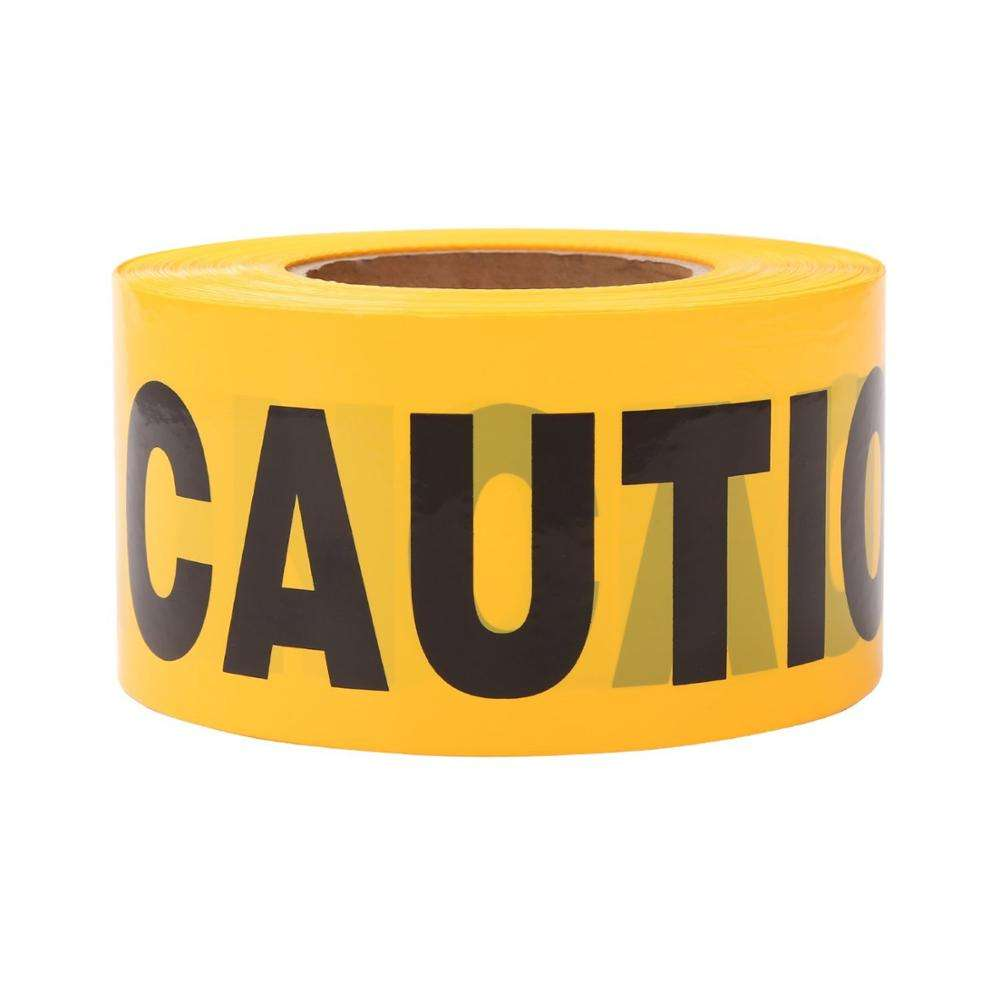 Radiation Warning Tape Red Warning Tape Reflective Hazard Warning Tape