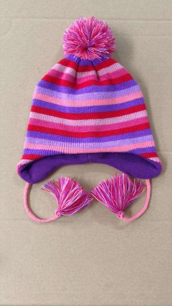 Casquette oreilles rabats BONNET ski cagoule de ski bonnet en laine tricot bonnet pompon Bonnet Népal