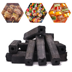 Wholesale Shisha Coal Factory Price High Quality 100% Bamboo Charcoal For Hookah Size 24X24mm