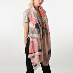 New listing spring colorful women light long printed scarf