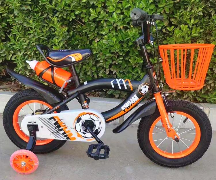 Single speed children bicycle with football pattern for Argentina market
