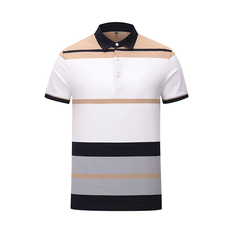 The latest mens polo shirts 100% cotton for men