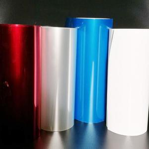 Transparent Silicone Coated Metallized PET Film Polyester Film Mylar Film