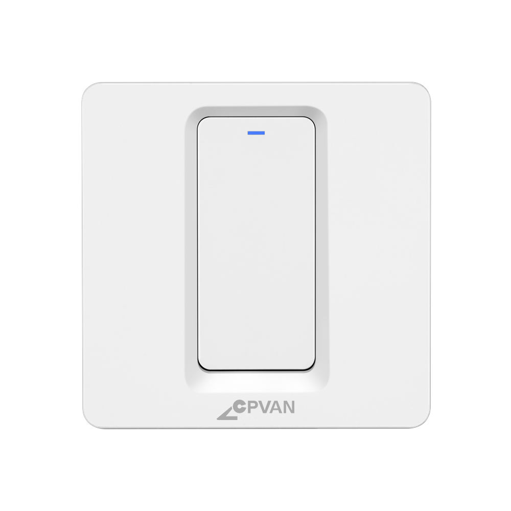 Smart Home System Zigbee Smart Wall Switch for Home Lighting Voice Control Tuya Zigbee Switch