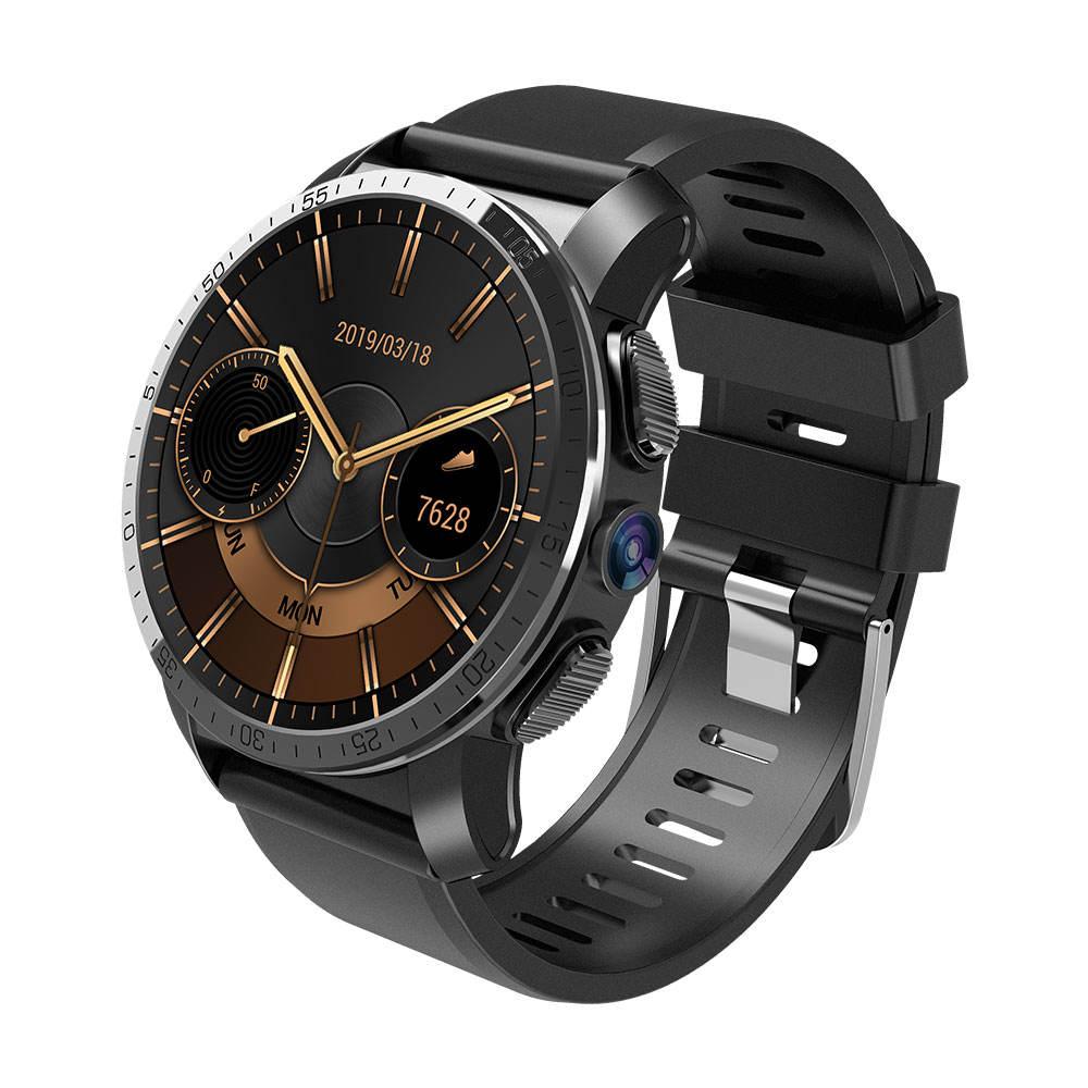 4 г gps wifi 1,39 дюймов AMOLED круглый сенсорный экран умные часы 2 Гб ОЗУ 16 Гб Камера Android 7,1 спортивные часы для <span class=keywords><strong>Iphone</strong></span>