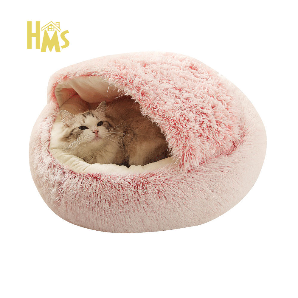 HMS Pet Supplies Wholesale Popular Indoor Soft Designer Luxury Memory Foam Dog Pet Cat Bed For Resting And Sleeping