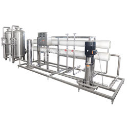 zhongguan stainless steel connection reverse osmosis water treatment machine
