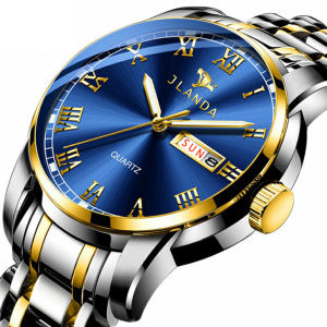 stainless steel luxury waterproof quartz oem brand hands wristwatches custom logo wrist watch men