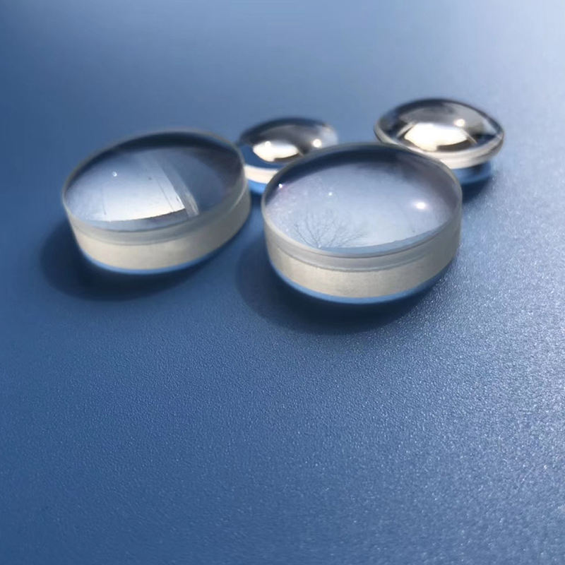 Custom precision optical glass lens 10mm to 200mm spherical lens manufacturer in china