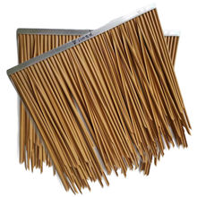 Free Sample Cheap Plastic Artificial Thatch Roof tile