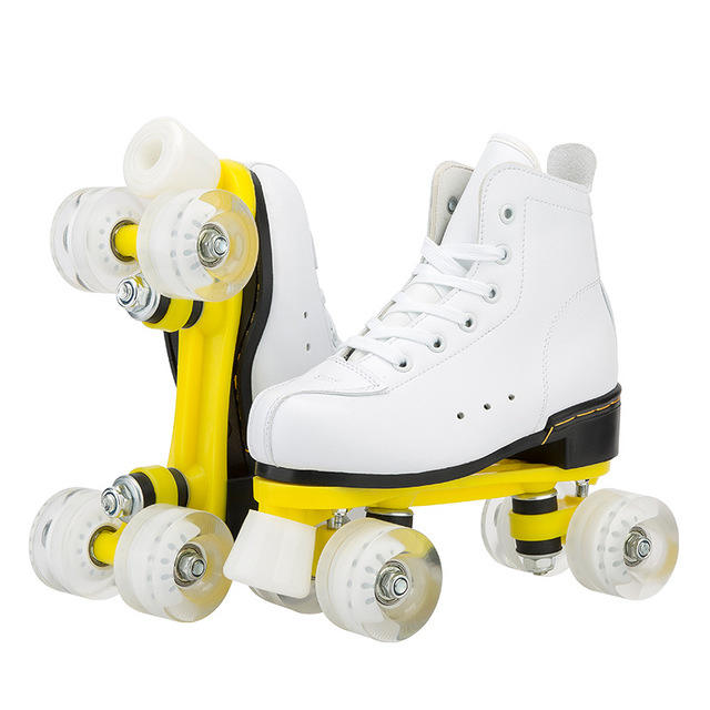 Amazon Double row skating shoes men's and women's figure skating for Children