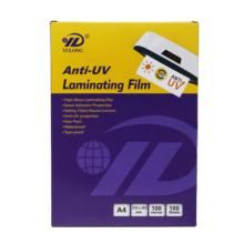 New product glossy outdoor anti UV A4  laminating Film Pouches