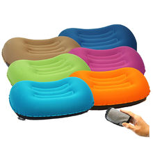 Multiple Colors Travel Pillow Inflatable Camping Sleeping Pillow Outdoor Foldable Portable Ultralight Camping Hiking Pillow