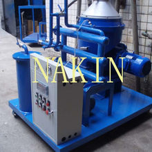 Oil water separator by using disc-centrifugal oil purifier