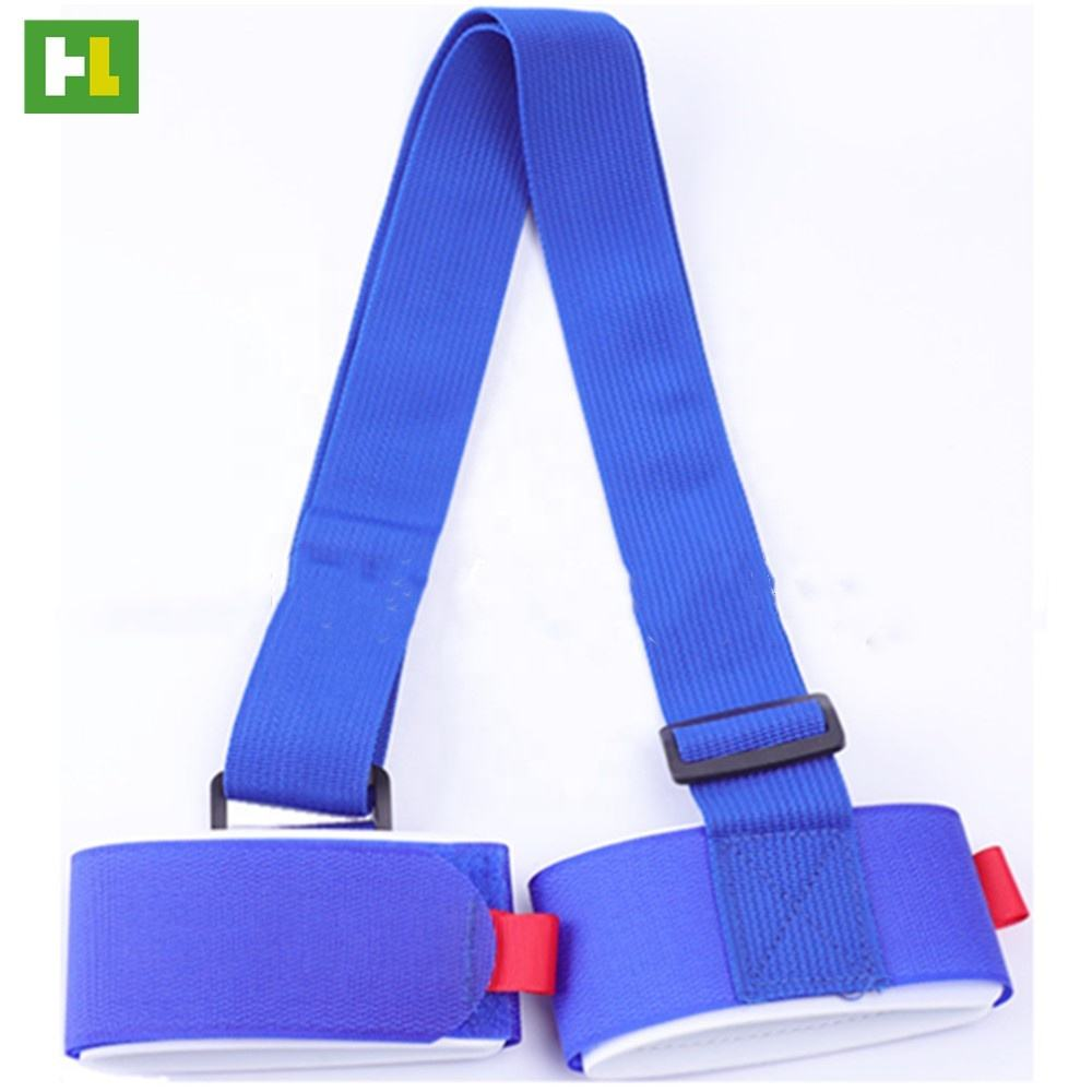 Durable adjustable polyester/nylon webbing shoulder carry ski pole carrier strap