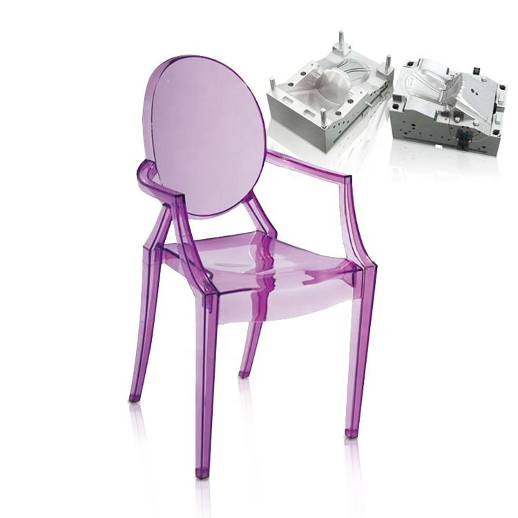 pc plastic seat chair mould inject mould for chair