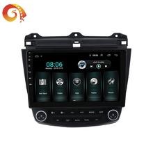 2 Din Car Universal Dvd Touch Screen Auto WIFI Android Radio GPS Mirror Link Stereo Audio For Honda Accord Seventh