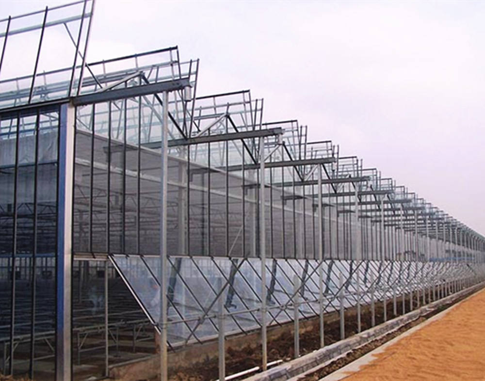 Intelligent Glass Greenhouse for Research and Development with Cooling and Heating System