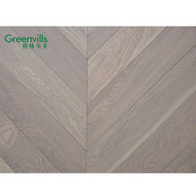 Greenvills 15mm oak chevron floor, durable wood flooring parquet, cheap fishbone parquet flooring