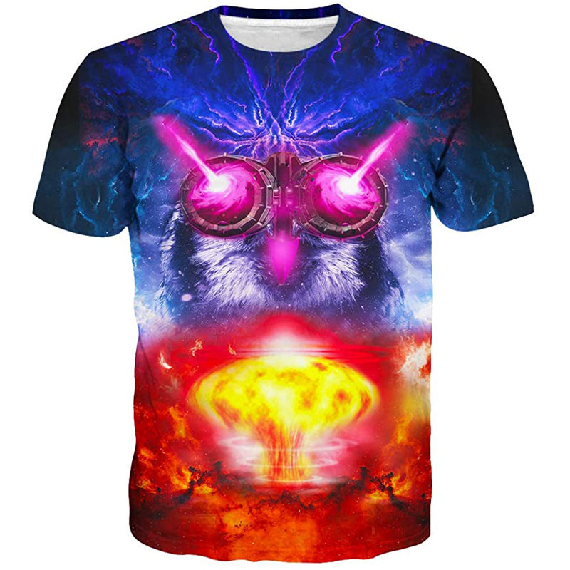 Mens Womens Graphic T-Shirts Unisex 3D Printed Short Sleeve Shirts Tops