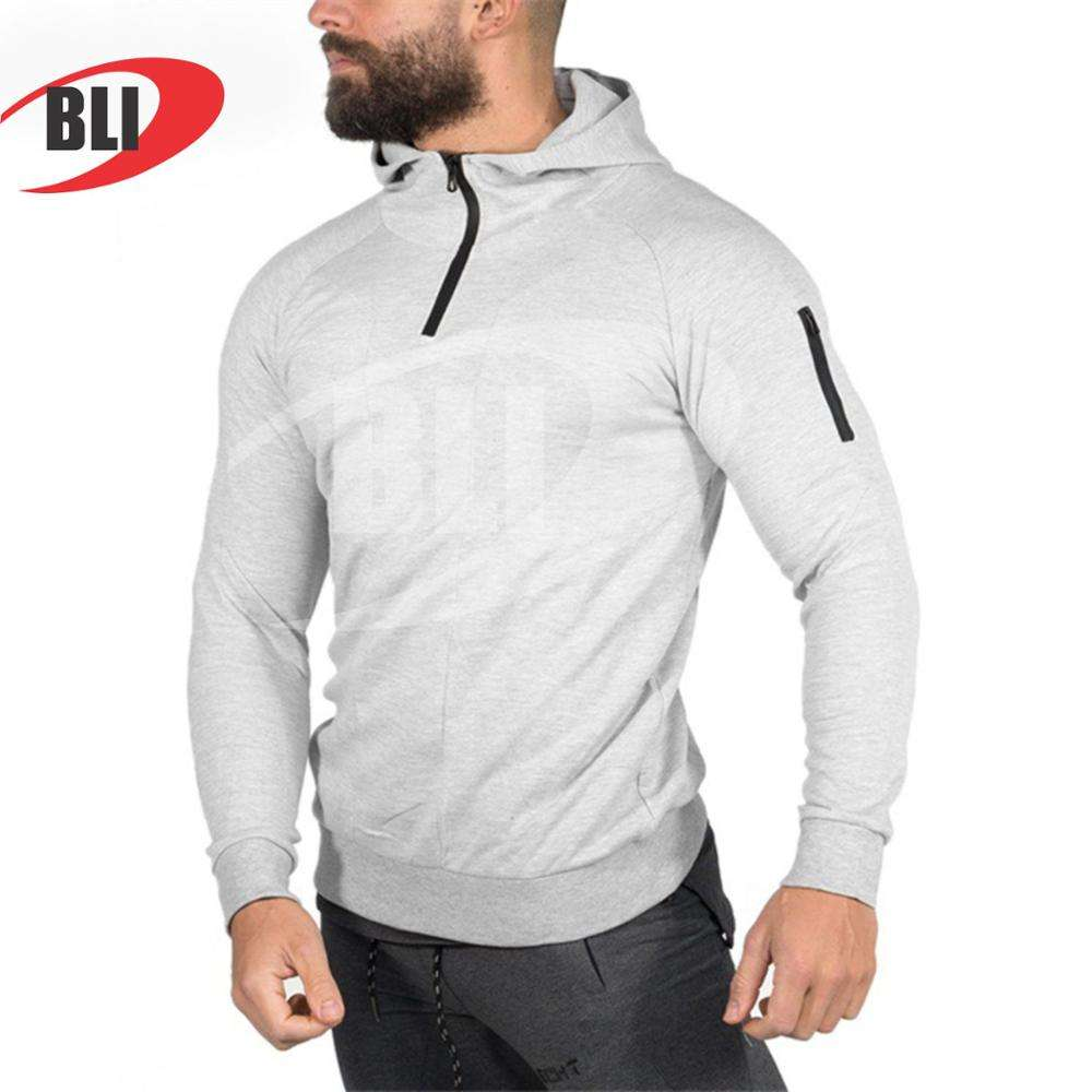 Workout BLTR Men Drawstring Contrast Leisure Athletic Pants for Jogging