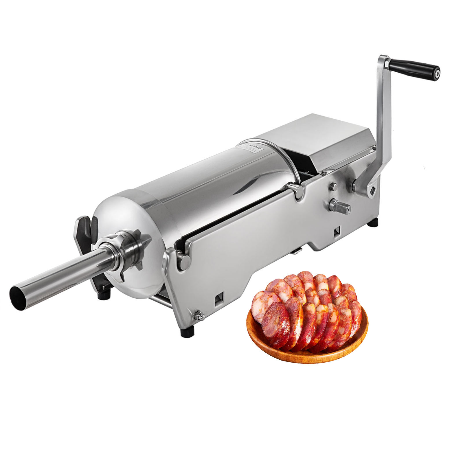 Manual Stainless Steel Sausage Stuffer 10L for sausage making sausage casing filling