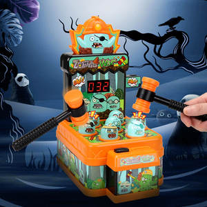 Halloween Theme Mini Whack A Mole Corpse Game Machine Toys For Kids Education BSCI Five Star